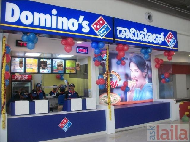 Dominos Pizza Shop Food Court