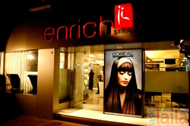 Enrich salon whitefield bangalore enrich salon luxury for Salon western
