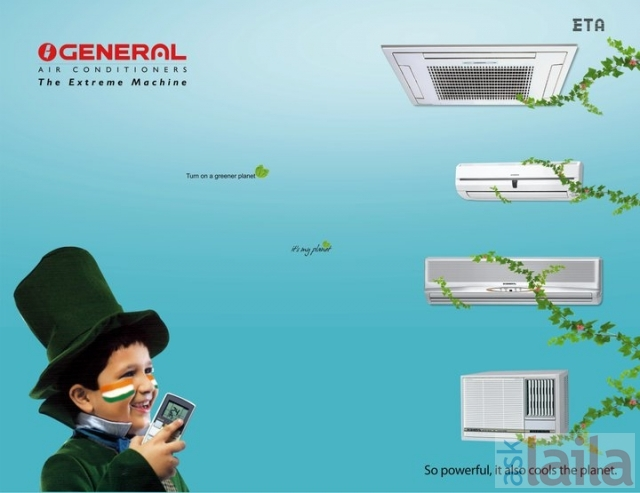 O General Air Conditioners In Okhla Industrial Area Phase