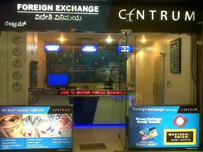 Sell forex in bangalore