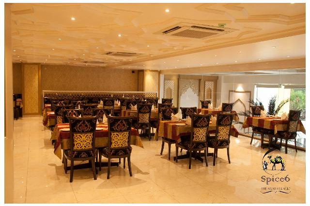 Spice 6 the arab villagio in banjara hills hyderabad for Crystal 7 cuisine hyderabad