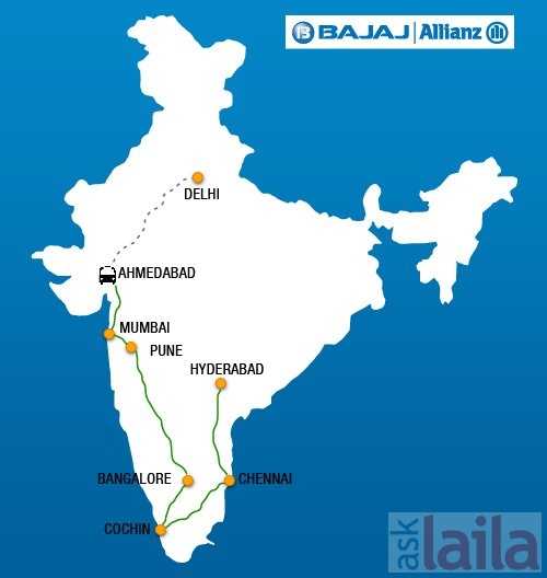 Bajaj Allianz General Insurance Mount Road Chennai