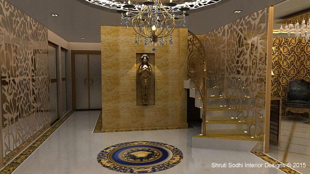 shruti sodhi interior designs in sainik farm delhi 3 people
