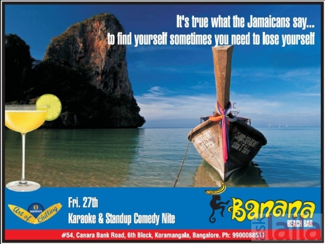 Banana Beach Bar In Koramangala 6th Block Bangalore 1